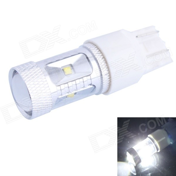 GC T20 30W 600lm 6500K White Light LED Car Steering / Signal / Brake Lamp (DC 12~24V)