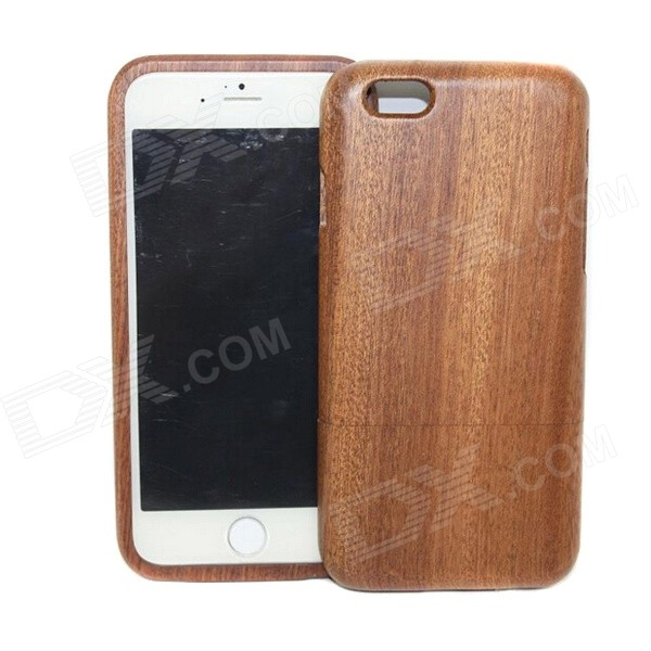 "Protective Wood Back Cover Case for IPHONE 6 4.7"" - Brown"