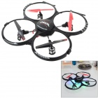 RUNQIA 2.4GHz 4-CH Outdoor 6-Axis R/C Quadcopter w/ Lamp / Gyroscope - Black (6 x AA)