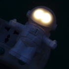 Astronaut Shaped 5W 30LM Warm White Light Wall Lamp w/ Light Control & Voice Control (AC 220~240V)