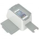 USB Powered Film / Slides / Photo Scanner avec LED pour IPHONE 4 / 4S / 5, Samsung S2 / S3 - Blanc