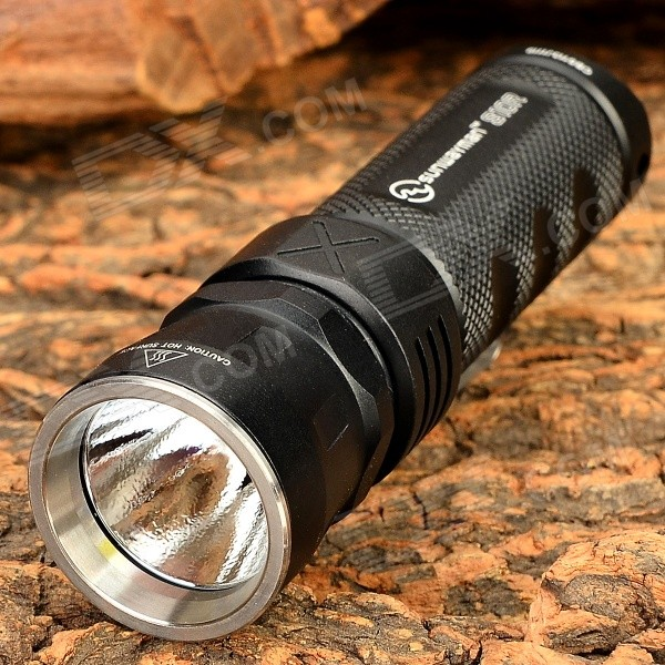 Sunwayman S10R 360lm 7-Mode Cool White Flashlight - Black (1 x 16430 / 1 x CR123A)