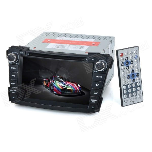 KLYDE KD-7029 7 Android Dual-Core 3G Car DVD Player w/ 1GB RAM / 8GB Flash / GPS / WiFi for Hyundai автомобильный dvd плеер joyous kd 7 800 480 2 din 4 4 gps navi toyota rav4 4 4 dvd dual core rds wifi 3g