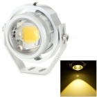 JRLED JRLED-10W-10W 12V IP65 700LM 3200K Warm White Light LED-Scheinwerfer - Silber (AC / DC 12V)