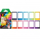 Genuine Fujifilm Instax Mini Instant Rainbow Film, 10 Sheets x 4 Value Set (Promotion Offer) for Fun