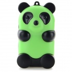 Cute Panda Shaped MP3 Player w/ TF Slot / USB Cable - Green + Black (18cm)