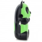 Cute Panda Shaped MP3 Player w/ TF Slot / USB Cable - Green + Black