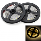 JRLED 144W 10000LM 3500K 600-5730 SMD LED Warm White Light Strips (2 PCS / 5M / DC 12V)