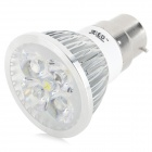 JRLED JRLED-B22-4W B22 4W 360lm LED 4-Cool foco blanco (AC85 ~ 265V)