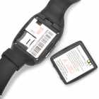 "Android 4.2 GSM Watch Phone w / 1,54 ""-scherm, 2 GB ROM, Bluetooth, GPS, Wi-Fi, 2.0MP webcam - Black"