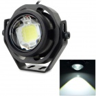 JRLED JRLED-10W-12V IP65 10W 700LM 6500K White Light LED Spotlight - Black (AC / DC 12V)