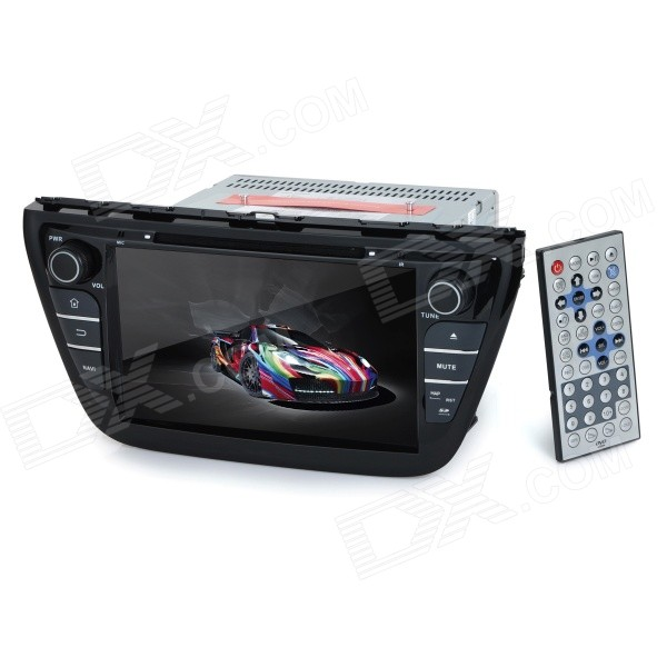 KLYDE KD-8073 8 Android Dual-Core 3G Car DVD Player w/ 1GB RAM / 8GB Flash / GPS / Wi-Fi for Suzuki планшет prestigio multipad grace 3118 pmt31183gccis black mediatek mt8321 1 2 ghz 1024mb 8gb wi fi bluetooth cam 8 0 1280x800 android