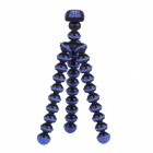 "6.5"" Mini Octopus Tripod Set for Camera / GoPro Hero 4 /3 / 3+/SJ4000/SJ5000 - Black + Blue"