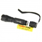 FandyFire WF-501B UV-LED 10lm 1-Mode Purple Light LED Flashlight - Black (1 x 18650)