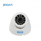 JOOAN JA-476LG 1/3'' CMOS 300KP All-in-one Automobile Camera w/ TF Card / 24-IR LED - White
