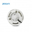 JOOAN JA-476LG tiers '' CMOS 300KP Tout-en-un appareil photo Automobile w / TF / 24 LED IR - Blanc
