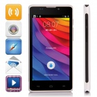 "L960 SC7715 Android 4.4.2 WCDMA Bar Phone w/ 4.5"" Screen, 2GB ROM, FM, Wi-Fi - White + Black"