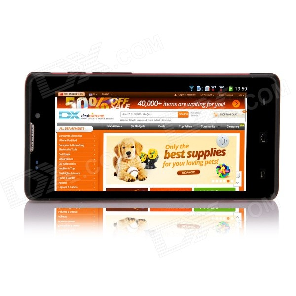 """L960 SC7715 Android 4.4.2 WCDMA Bar Phone w/ 4.5"""" Screen ..."""
