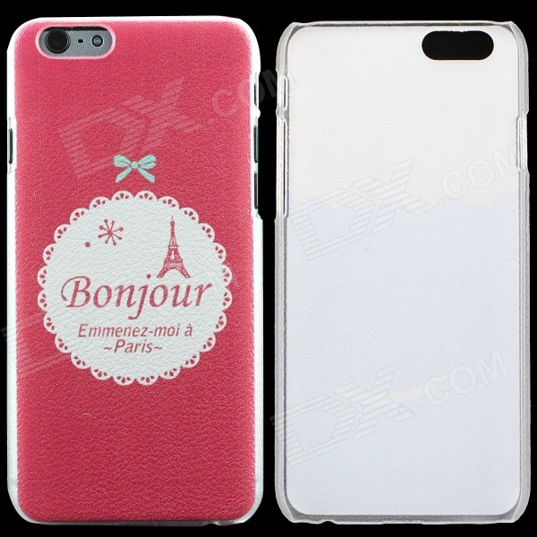 Thin Protective Bonjour Pattern PC Back Cover Case for IPHONE 6 4.7