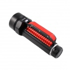 KINFIRE KF600 High Power 2400lm White Dimming Diving 6-LED Flashlight - Black + Red (2 x 26650)