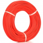 Woven Rubber + Tin-plated Copper Wire High Temperature Cable - Red (100m / 300~500V)