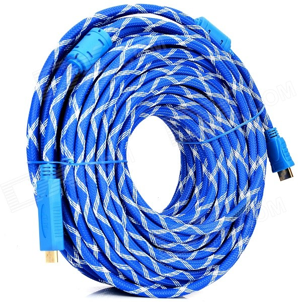 HDMI 1.4 Male to Male Connection Cable - Blue (3000cm) hot 7 m height smile face free shipping inflatable air dancer sky dancer for event