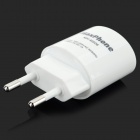 Adaptador de Plug Power ABS Maxphone MH-M506 de la UE para IPHONE / Samsung - Blanco (100 ~ 240V)