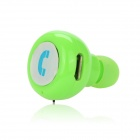 EPGATE D00280 Hands-free Bluetooth V4.0 In-Ear Headset - Light Green