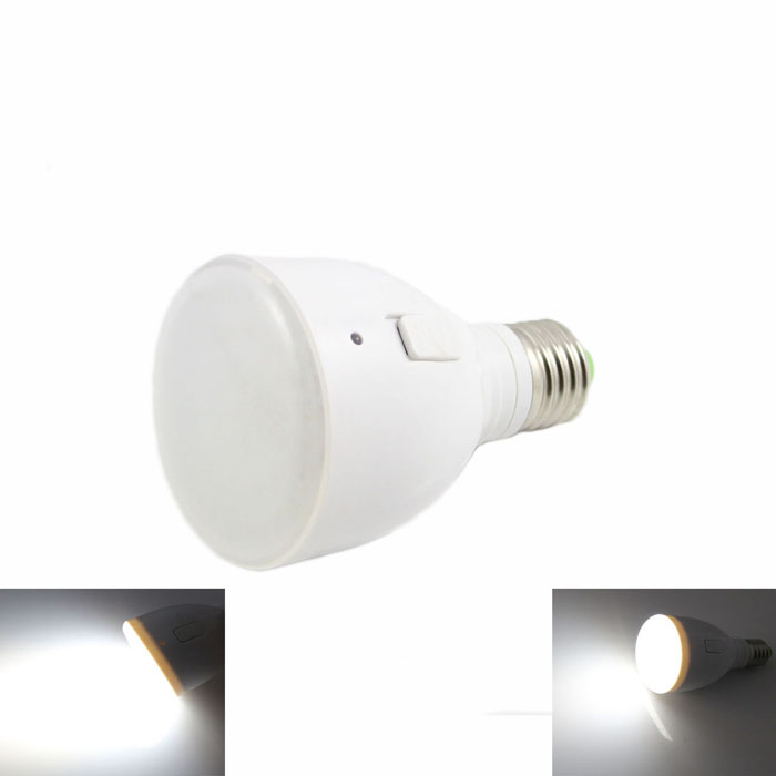 KINFIRE E27 4W LED Rechargeable Cold White Light (AC85~265V)