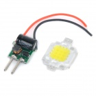 JRLED 10W 600lm 6500K White Light LED-Emitter w / Netzteil-Treiberplatine