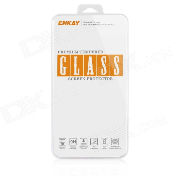 ENKAY 0.26mm 9H 2.5D Explosion-Proof Tempered Glass Screen Protector for Huawei Honor 3C enkay 0 26mm 9h explosion proof tempered glass screen protector for huawei honor 6 transparent