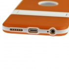"Hat-Prince Protective TPU Back Case w/ Stand for IPHONE 6 4.7"" - Orange"