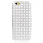 "Hat-Prince Protective TPU Back Case w/ Anti-dust Plug for IPHONE 6 4.7"" - White"