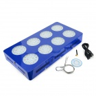 MFC-W432 432W 12960lm 144-LED Red / Blue Light Remote Control Plant Growth Lamp - Blue (AC 85~265V)