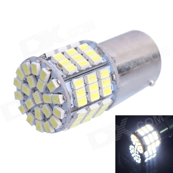 1157 / BA15D 7.5W 480LM 85x3020 SMD White LED Brake Light for Car (DC12V)