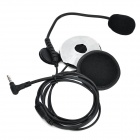 Bluetooth V3.0 Hands-free Walkie Talkies + Headset w/ FM / Mic. for Motorcycle Helmet - Black
