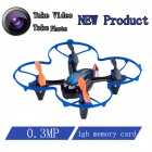 Brilink BH20 Mini 4-CH 2.4GHz Aerial Photography R / C Flugzeuge w / 0.3MP Kamera / 1GB TF Karte - Blau