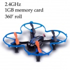 Brilink BH20 Mini 4-CH 2.4GHz Aerial Photography R/C Aircraft - Blue