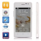 "G5 SC7715 Android 4.4.2 WCDMA Bar Phone w/ 4.0"" Screen, 2GB ROM, FM, Wi-Fi - White"