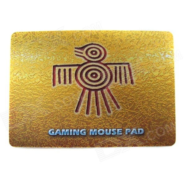 Multispandex + Rubber Gaming Mouse Pad - Yellow + Multicolored