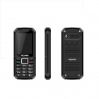 "NOAIN 007 IP67 Waterproof Dustproof Shockproof Quad-core GSM Phone w/ 2.4"", Dual SIM, GPS - Black"