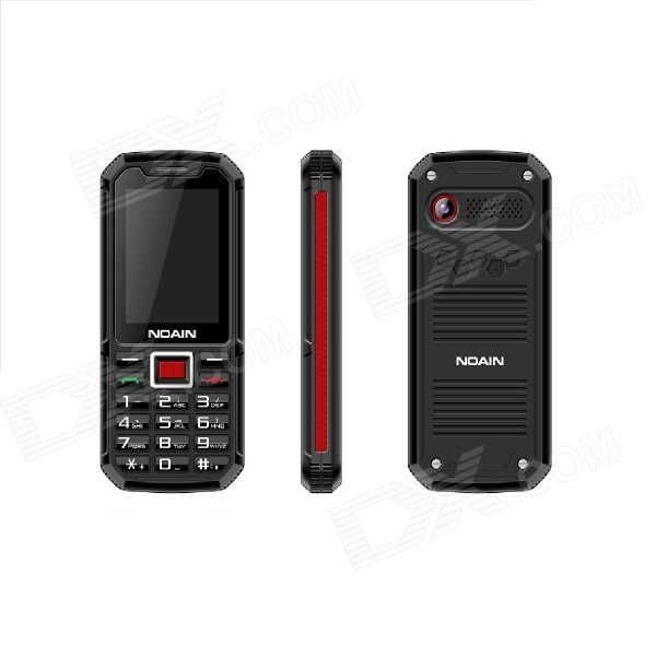 NOAIN 007 IP67 Waterproof Dustproof Shockproof GSM Phone w/ 2.4