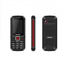 "NOAIN 007 IP67 Waterproof Dustproof Shockproof GSM Phone w/ 2.4"", Dual SIM, GPS - Black + Red"