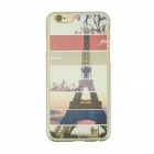 "Eiffel Tower Patterned Protective PC Back Case Cover for IPHONE 6 4.7"" - Multi-colored"