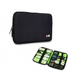 BUBM Portable Digital Accessories Nylon Storage / Organizing Bag - Black (Size S)