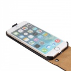 Business Style Protective Top Flip-Open Case for IPHONE 6 - Black