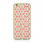 "Pastoral Pattern Protetcive PC Back Case for IPHONE 6 4.7"" - White + Pink + Multi-Color"