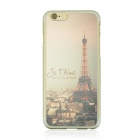 "Night View of the Eiffel Tower Pattern Protective PC Back Case for IPHONE 6 4.7"" - Bronze + Black"