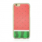 "Watermelon Pattern Protective PC Back Case for IPHONE 6 4.7"" - Red + Green + Multi-Color"