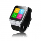 "ZGPAX S28 1.54"" Capacitive Touch Screen GSM Watch Phone w/ Quad-band, FM, Bluetooth - Black + Silver"